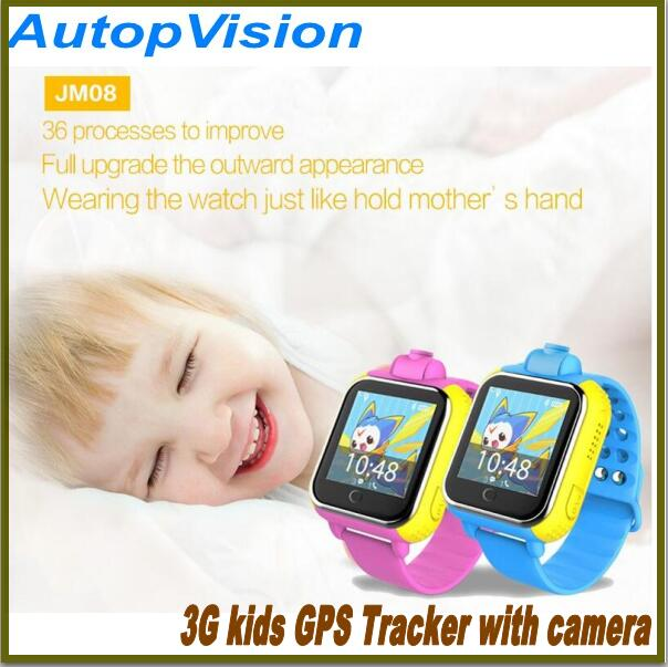 Kid's Safe GPS Tracker Smart Watch Phone JM08 SOS Emergency Call GSM WCDMA 3G/Wifi SIM Card For  Android Children Baby Child Ca voberry s888a gps sim card smart watch sos emergency call smartwatch lbs wifi watches for kids elderly safety children security