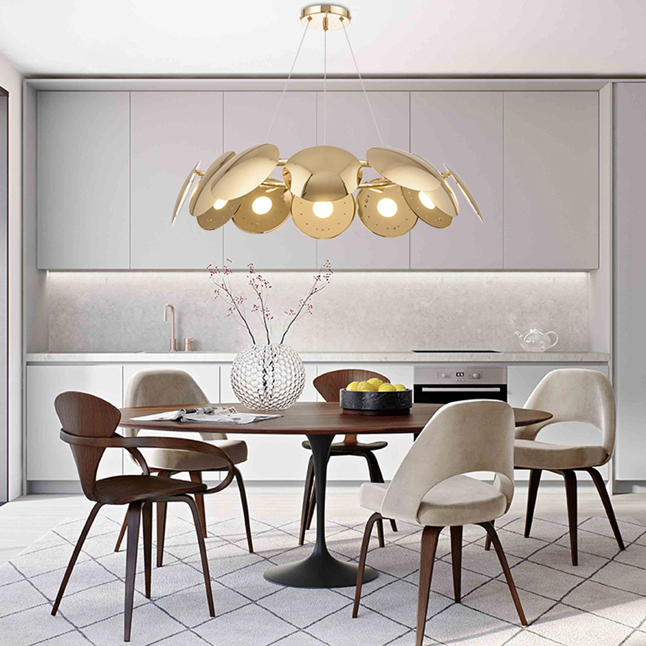LED Nordic Iron Designer Art Decoration LED Lamp LED Light Pendant Lights Pendant Lamp LED Pendant Light For Bar Dinning Room led postmodern iron crystal ring led lamp led light pendant lights pendant lamp pendant light for dinning room foyer