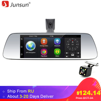 Junsun 7 Inch Car GPS Navigator Android 5 0 With DVR Mirror Bluetooth Built In 16GB