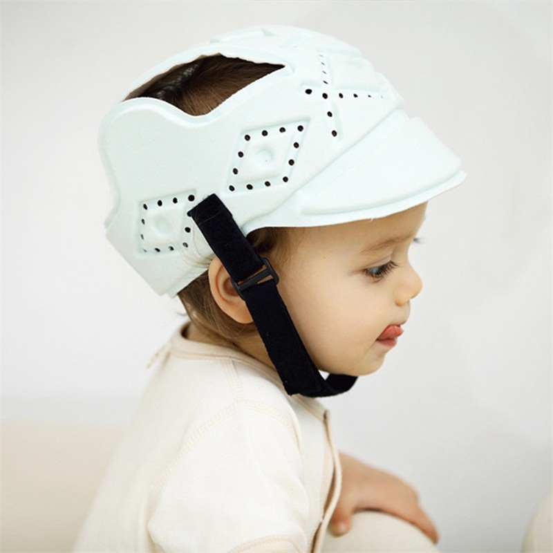 Safety Equipment Provided Children Baby Protective Helmet Protection Kids Boys Anti Shock Corner Guard Cap Soft Safety Protection Hat Toddler For Walking Edge & Corner Guards