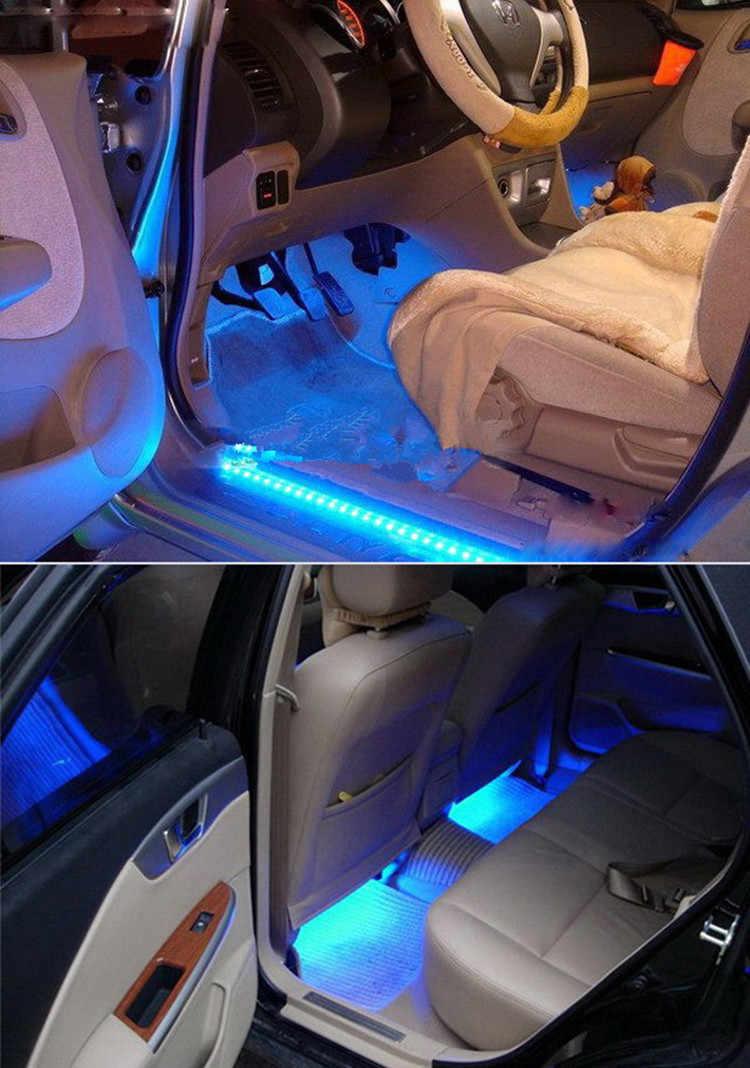 LED Di Bawah Kabinet Lampu LED Strip Lampu LED dengan Wireless PIR Sensor Gerak Port 12 V Lemari Tangga Lemari Pakaian tempat Tidur Lampu Samping