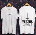 High Quality GOD 2016 NEW KANYE WEST YEEZUS TEE GLASTONBURY Clothing JAY-Z + T Shirt ASAP Graphic