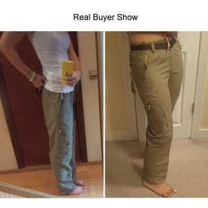 Image 5 - ניילון נשלף עמיד למים טיולים מכנסיים נשים/גברים מהיר יבש מכנסיים הרי/קמפינג/טרקים חיצוני מכנסיים ספורט מכנסיים AW003