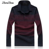 2017 New Autumn Winter Brand Cashmere Men Sweater Business Top Quality Striped Silk Sweater Mens Pullover