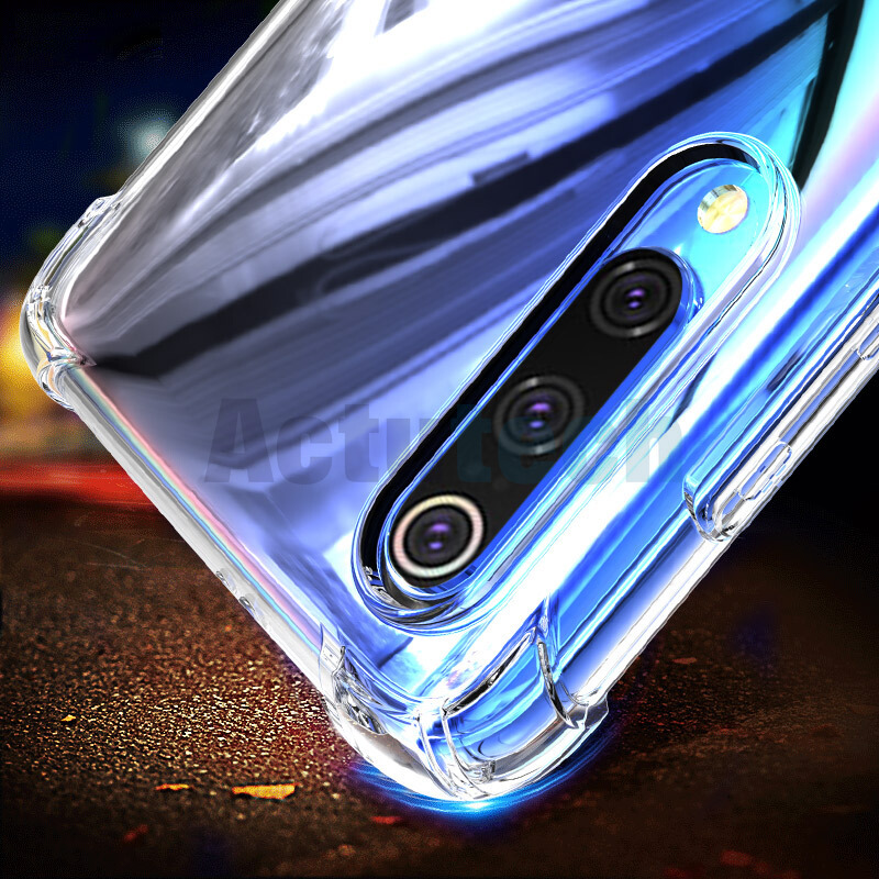 Clear Crystal Shockproof Case For Xiaomi Mi 9 8 SE Redmi Note 7 6pro 6 6A 5plus Mi max2 max3 mix2S Mi 6X 5X Case Soft TPU airbag in Fitted Cases from Cellphones Telecommunications