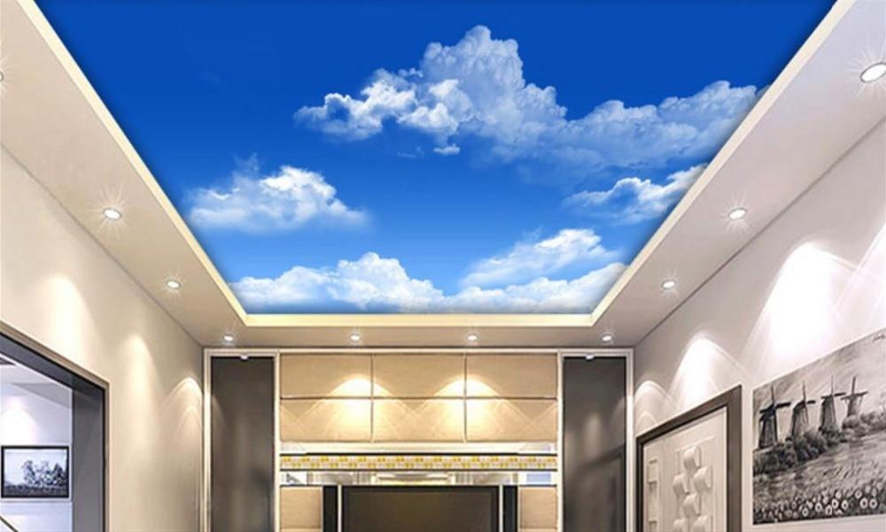 de alta definicin de la imagen grande cielo nubes fresco wallpaper para paredes papel pintado techo