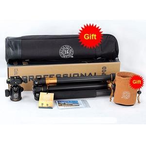 Image 5 - QZSD Beike Q999C Carbon Fiber Professional Tripod Monopod Ballhead Changeabel For DSLR Camera 1400g Netweight 159cm max height
