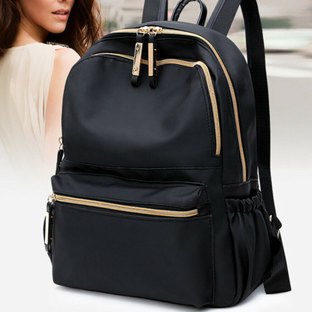 2019 Newest Hot Waterproof Oxford Backpack Women Black School Bags for Teenage Girls Large Capacity Fashion Travel Tote Backpack