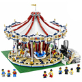2017 New LEPIN 15013 3263Pcs City Creator Expert Grand Carousel Model Building Kits Figure Blocks Bricks Compatible Toys 10196