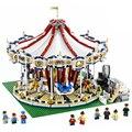 2017 nueva lepin 15013 3263 unids city creator experto grand carrusel kits de edificio modelo figura juguetes de bloques de ladrillos compatibles 10196