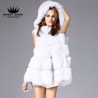 In The Fall And Winter Of The New Fox Fur A Fur Coat Women S Wear