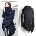 The explosion of aliexpress eBay Europe wool coat jacket slim temperament female 6624#