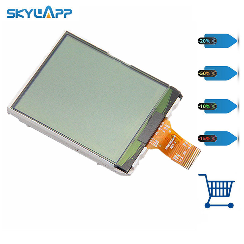 Skylarpu 2.4 inch for VGG1216A9-B REV 1 LCD Screen for GARMIN eTrex 10 Handheld GPS LCD display Screen panel (without touch)
