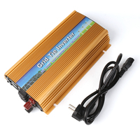 EU 1000W Grid Tie Power Inverter with MPPT For Home Solar Panel System Generator System ,Input DC 22V 50V, Output AC 180V 260V