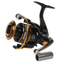 2015 Goture Metal Spool Spinning Fishing Reel DQ2000 3000 4000 13BB 5 2 1 Feeder And