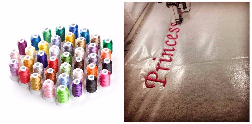 Simthread 새로운 배열 승진 폴리 에스테 40 색 550 야드 물 역행시키는 저장 $5-에서실부터 홈 & 가든 의  그룹 1