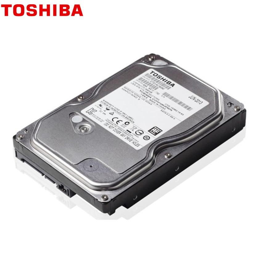 "TOSHIBA 500GB Internal Hard Drive Disk Harddisk HDD HD 500 GB 500G SATA III 3.5"" 7200 RPM 32M Cache for Desktop Computer 4"