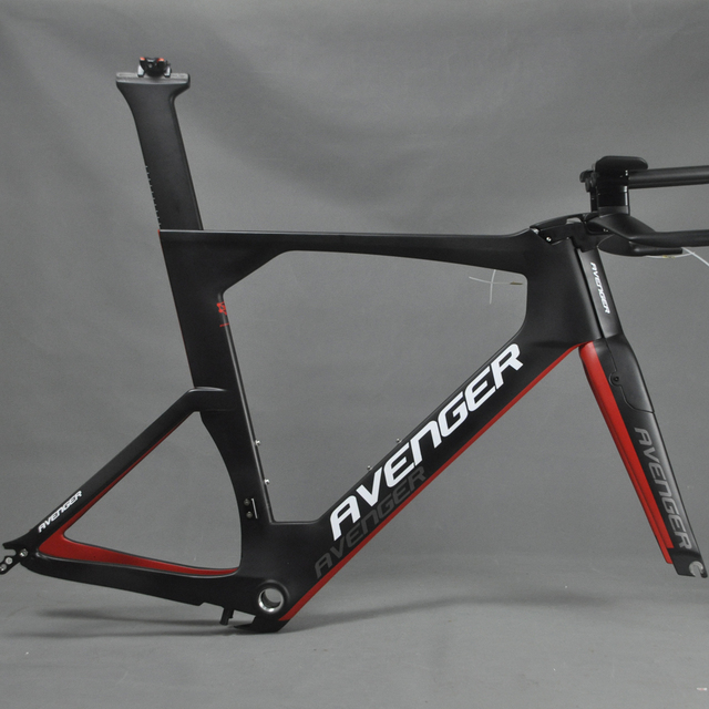 Time Trial Bicycle Carbon Frame Avenger Painting TM6 Carbon Bike TT ...