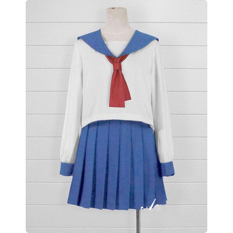 Poputepipikku Cosplay Costumes Popuko Cosplay Pipimi Costume Anime Pop Team Epic Woman School Uniform Spring 2018