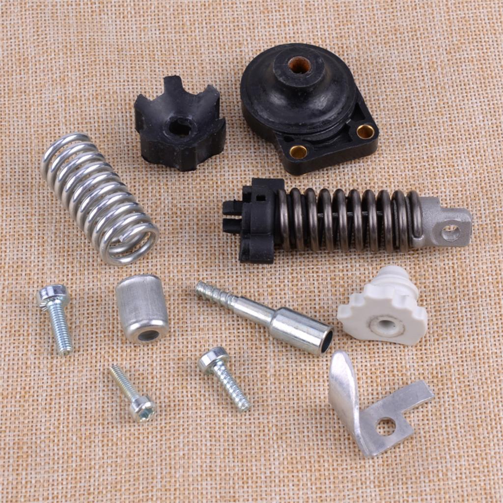 AV Spring Annular Buffer Sleeve Spline Screw Bolt Chain Catcher 1135 791 6100 1135 791 6100 Fit For STIHL MS361 MS341 Chainsaw