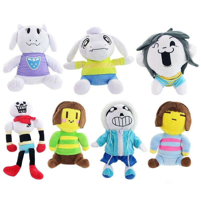 Jouets en peluche Chara Temmie Sans Frisk de Style 7 pour enfants cadeaux pour enfants