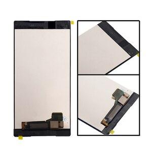"""Image 3 - Adequado para sony xperia z5 premium 5.5 """"lcd digitador da tela de toque para sony xperia z5p z5 plus e6853 e6883 display mais quadro"""