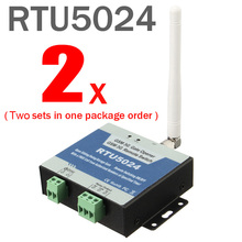 2 Компл. GSM Gate Opener Реле Переключатель Дистанционного Контроля Доступа Беспроводной Automaitc Двери Раздвижные ворота Открывалка Бесплатный Звонок RTU5024