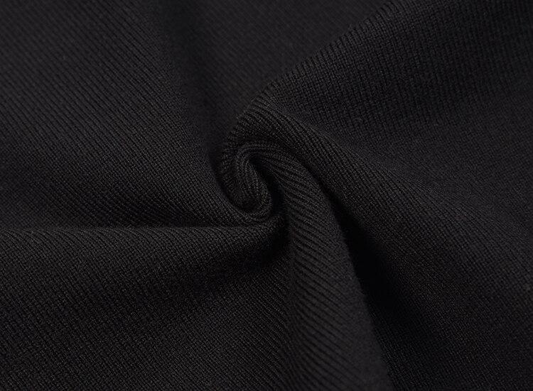 Flare Femmes Chandail Chandails Slash Court Manches Épaissie Les Tricoté Pull Cou Sexy Black Getsring Toutes Sélections UIwFd5xqI