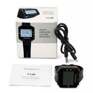 Image 5 - 5pcs Retekess T128 מלצר שיחת שעון מקלט 433.92MHz קורא אלחוטי מערכת מסעדה ציוד שירות לקוחות
