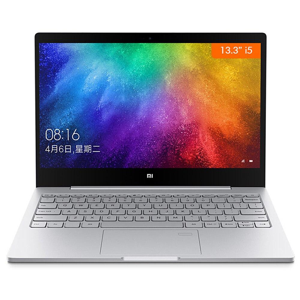 Xiao mi mi Notebook Ar 13.3 Janelas Intel Core i7-8550U 10 Quad Core 2.5 GHz 8 GB 256 GB Impressão Digital sensor Dual Wi-fi-Tipo C Laptop