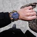 2pcs/set Yoga Jewelry Men's Beaded Bracelet Fashion New Luxury Agate Buddhist Buddha Meditation 6mm Prayer Bead Bracelets Bangle