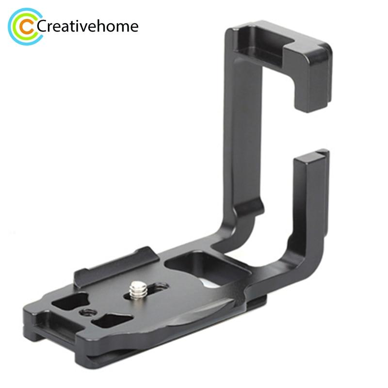 купить FITTEST Quick Release Plate 1/4'' Vertical Shoot L Tripod Adapter Bracket Base Holder for Canon 5D Mark IV (5D4) Metal Ballhead по цене 2564.19 рублей