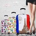 4 стиль путешествия багаж чемодан защитный чехол, Стрейч, Распространяется на 18 дюймов до 32 дюймов чехол, Дорожные принадлежности