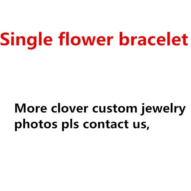 aaed290056f Marca famosa réplica jóias encantos pulseira flor