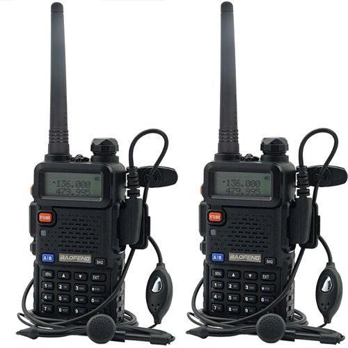 2X Baofeng UV-5R Dual Band UHF/VHF Radio RF 5 W SORTIE NOUVELLE Version + US STOCK