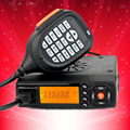 Baojie BJ-218 Mini Mobile Radio than QYT KT-8900D 25W Vehicle Mounted Two Way Radio Upgrade KT-8900 with Quad Band Large LCD