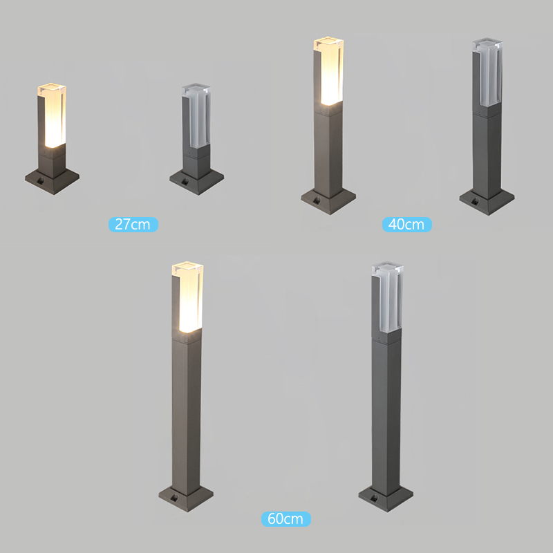 Variations of LED Lawn Lamp