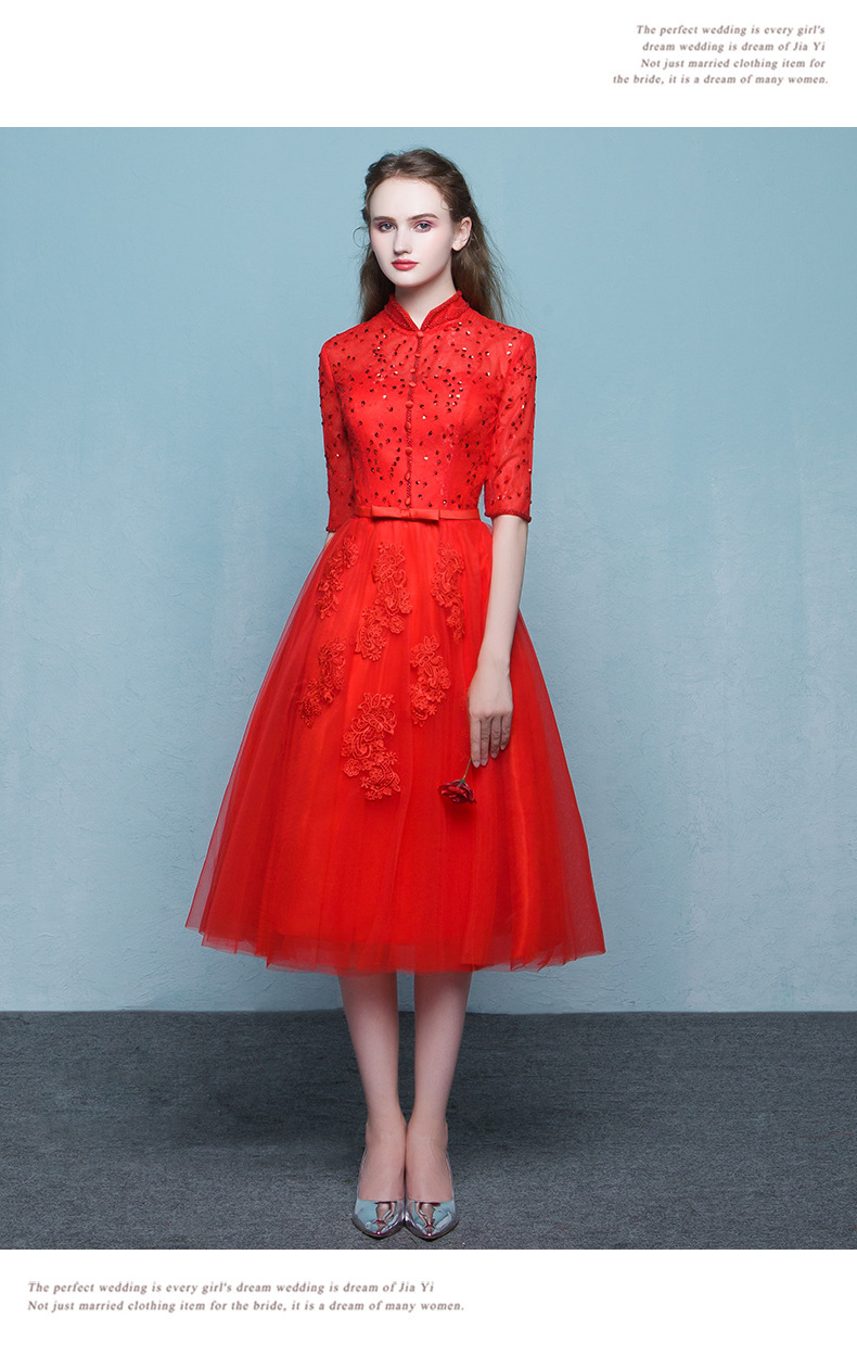 Traditional Chinese Dress Qipao Wedding Cheongsam Oriental Party ...