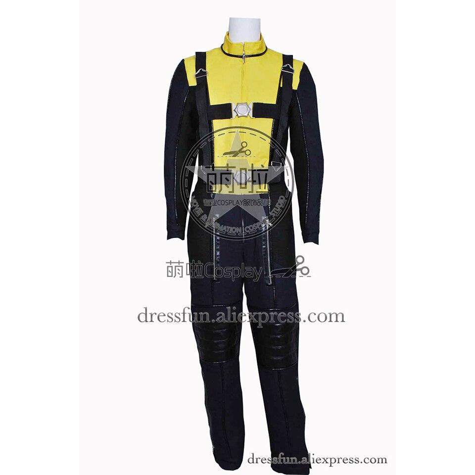 X-Men X Men First Class Cosplay Erik Lehnsherr Magneto Costume Uniform Jumpsuit Outfit Full Set Popular Male Version Halloween