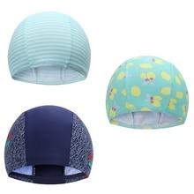 Женская шапочка для плавания, милая шапочка для купания, шапочка для плавания, растягивающаяся драпировка свободного размера, спортивный эластичный нейлоновый тюрбан TX005