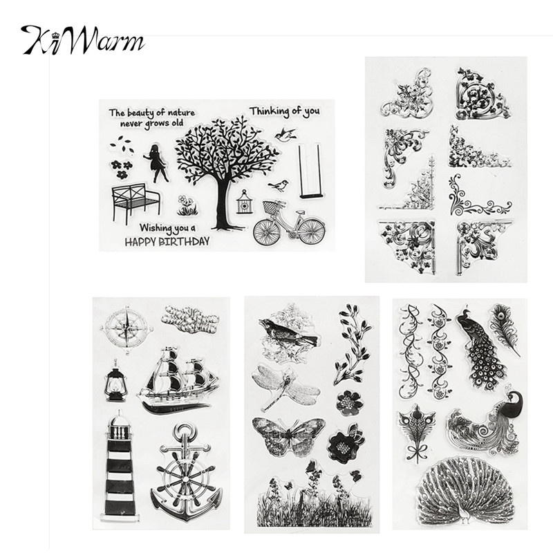 Corner Rubber Stamp Designs