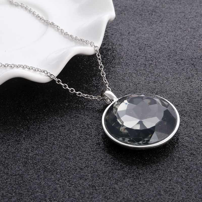 New Simple Crosses Retro Vintage Cross Necklace Women Crystal Long Necklaces Bijoux Religious Jewelry Collares Largos Christian