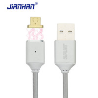 Magnetic Cable Micro USB Magnectic Cable Data Sync Charging Cable Charger With Nylon Braided For Xiaomi