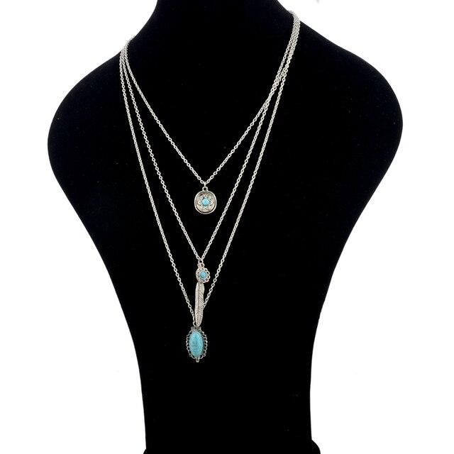 chicvie винтажные простые цветочные античные ожерелья с листьями фотография