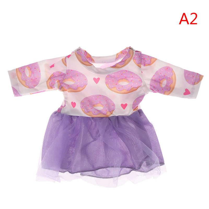 Thời trang Búp Bê Quần Áo Phụ Kiện Nơ Công Chúa Váy Phù Hợp Cho 43 cm Quần Áo Búp Bê Phụ Kiện Món Quà Giáng Sinh