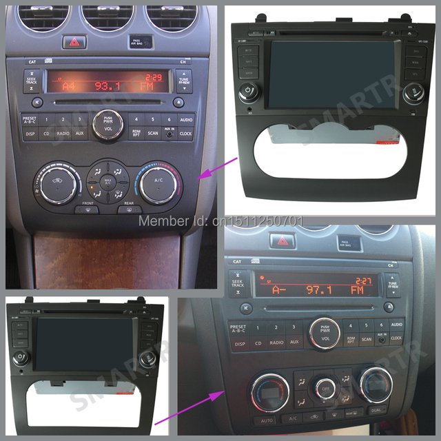 oem replacement in dash radio dvd gps navigation headunit with rh aliexpress com nissan navigation manuals and guides nissan qashqai navigation system manual