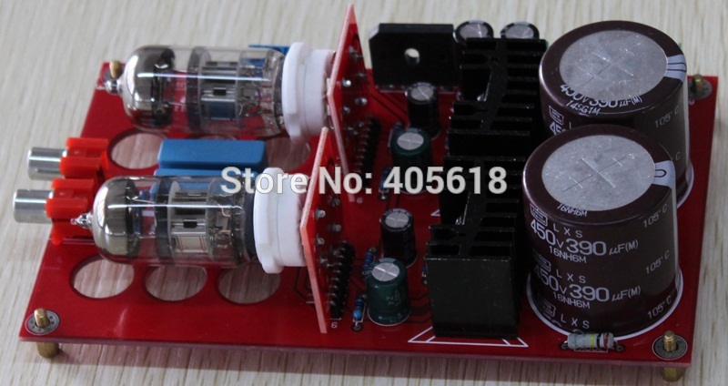 Free shipping Pre - AMP Peramplifier included 2pcs Tube 6N11Free shipping Pre - AMP Peramplifier included 2pcs Tube 6N11