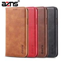 Роскошный кожаный чехол для samsung S 7 S7 край S7edge S8 S8 + S9 Plus Note 9 5 чехол для телефона Galaxy S10 Lite J4 J6 A6 A8 чехол-портмоне