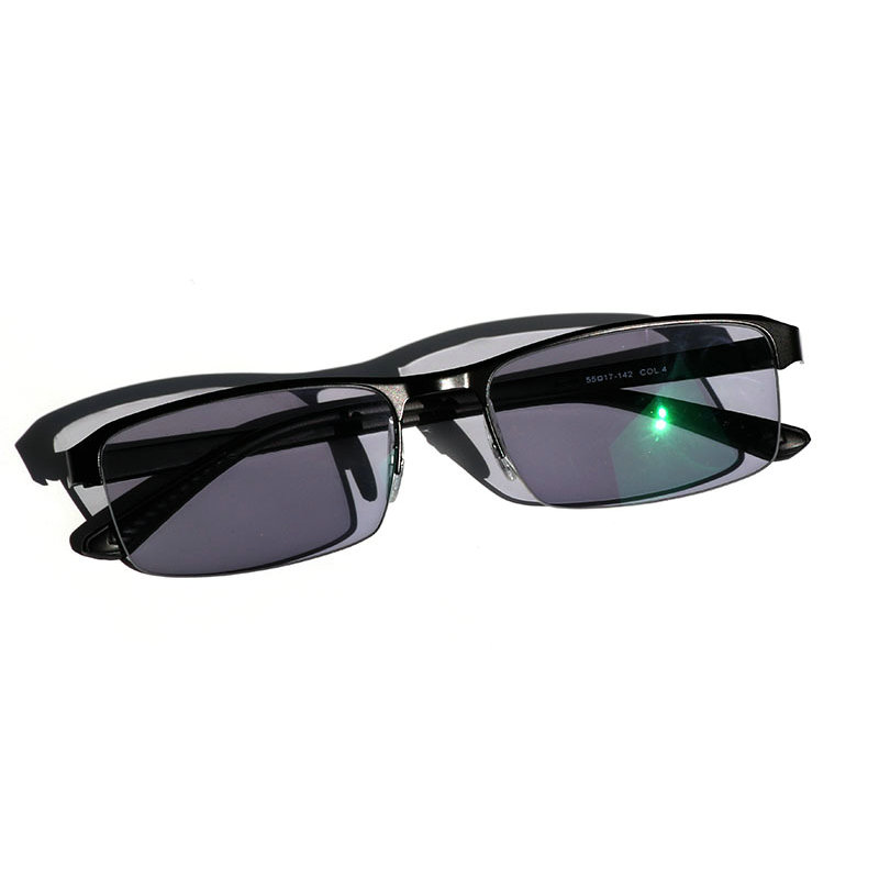 Image 3 - KJDCHD/New Quality Photochromic Myopia Presbyopia Men's Glasses Fashion Square half Rim Classic Reading Glasses for Men-in Men's Reading Glasses from Apparel Accessories