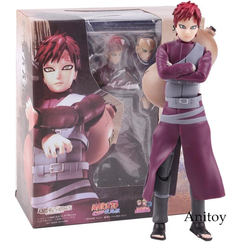 Anime Naruto Shippuden Action Figures Hokage Action Figure Gaara Sabaku No Gaara Figure SHF S.H.Figuarts Toys 15cm